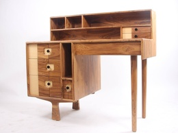 Teakwood study table or work station for home office and office