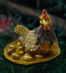 Wishbox Golden Hen