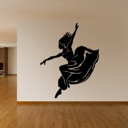 Dancing Lady Wall Decal ( KC096 )
