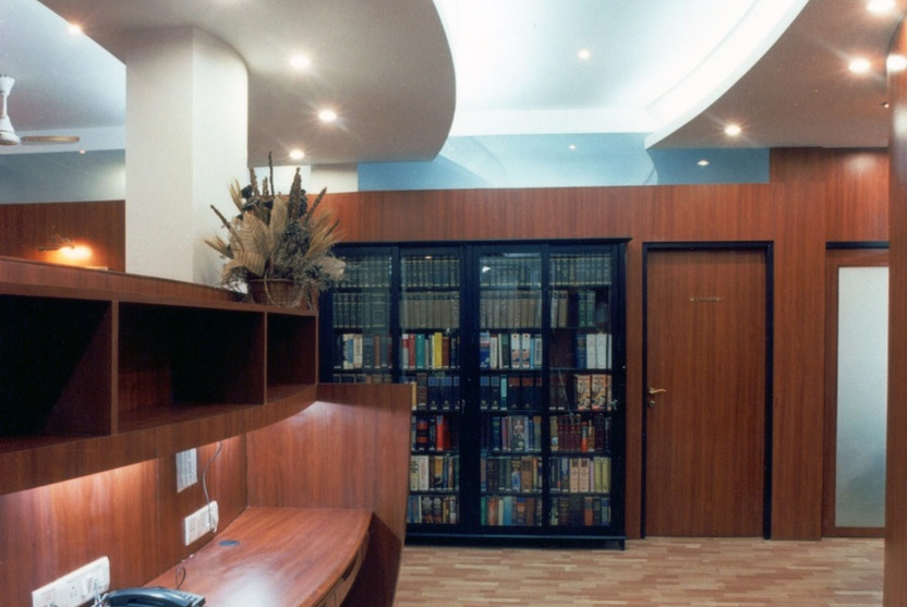 The Office Library- Law Firm Office