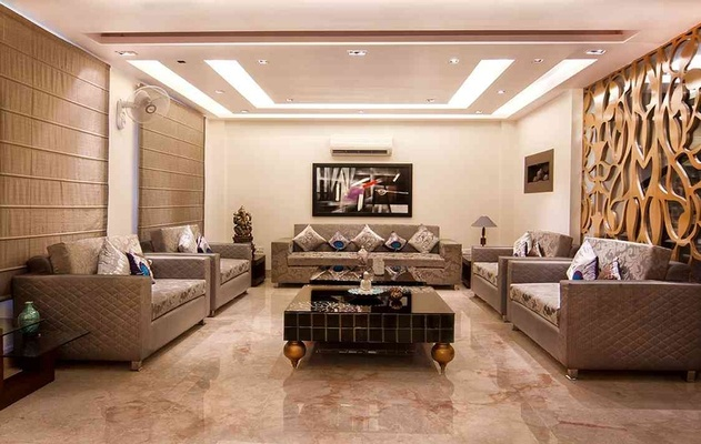 Superb Drawing Room Design By: Rohit Mitra