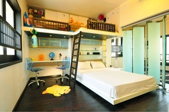 Bunk Bed Design Idea by Architecture firm Vivek & Sachin Design Associates