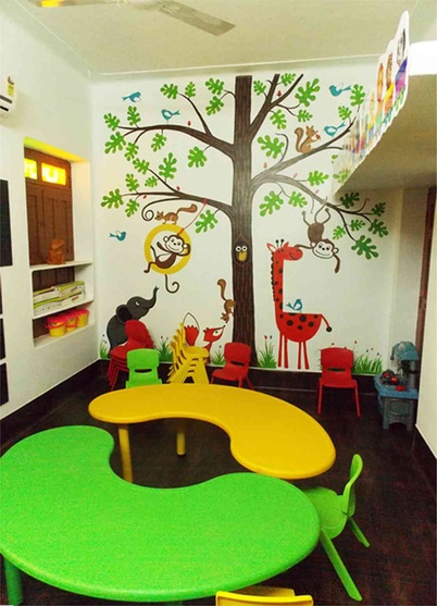Splash Play School By Siva Sp Interior Designer In Chennaitamil