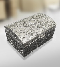 Jewelry Box Antique Finish