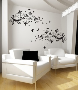 Vines Of Spring Wall Decal