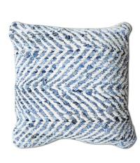 Sandy Textured Denim Cushions