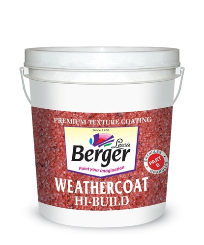Tartaruga Hi Build Durable, Weatherproof Paint - Berger WeatherCoart Hi-Build