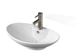 Sestones Felisa White Oval Basins