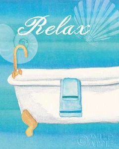 Seashells Spa II No Border Poster