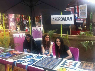 Azerbaijan crafts also were seen this time