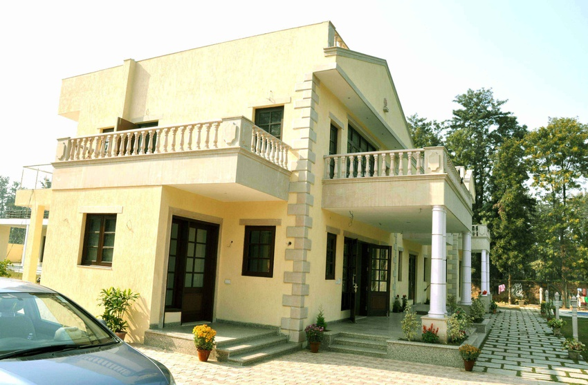 Marvelous Front Design Of House In Haryana Part - 2: ZingyHomes