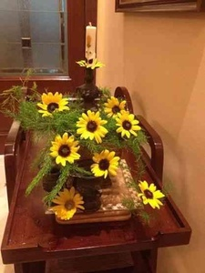 Sunflowers for a sunny day decor