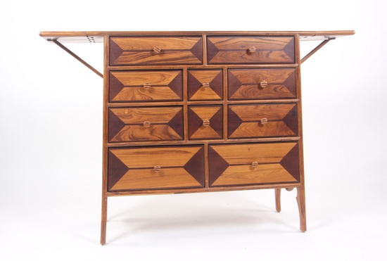 Das Daraj (Solidwood cabinet with ten drawers)