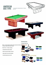 BILLIARDS AND POOL TABLES