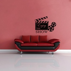 Enjoy the Show Wall Decal ( KC333 )