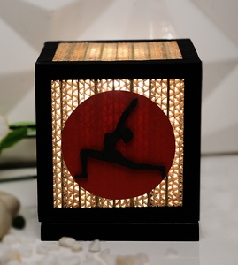 Sustainable Handmade Sylvn Studio Centric Yoga Asana Table Lamp