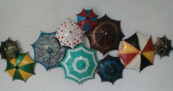 METAL WALL ART/Umbrella Panel/KRAFT & KULTURE