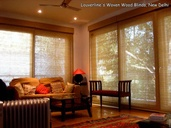 Wooden Woven Blinds- Dining