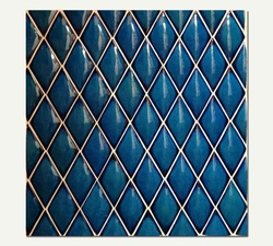 Azul Series - Messina Oval Moroccan Blue
