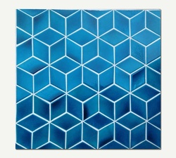 Azul Series Hand-crafted Tiles