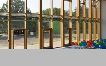 Wood Frame Glazing System