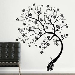 Tree in Bloom Wall Decal ( KC104 )