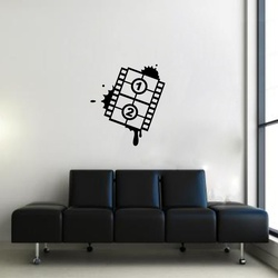 The Movie Reel Wall Decal ( KC330 )