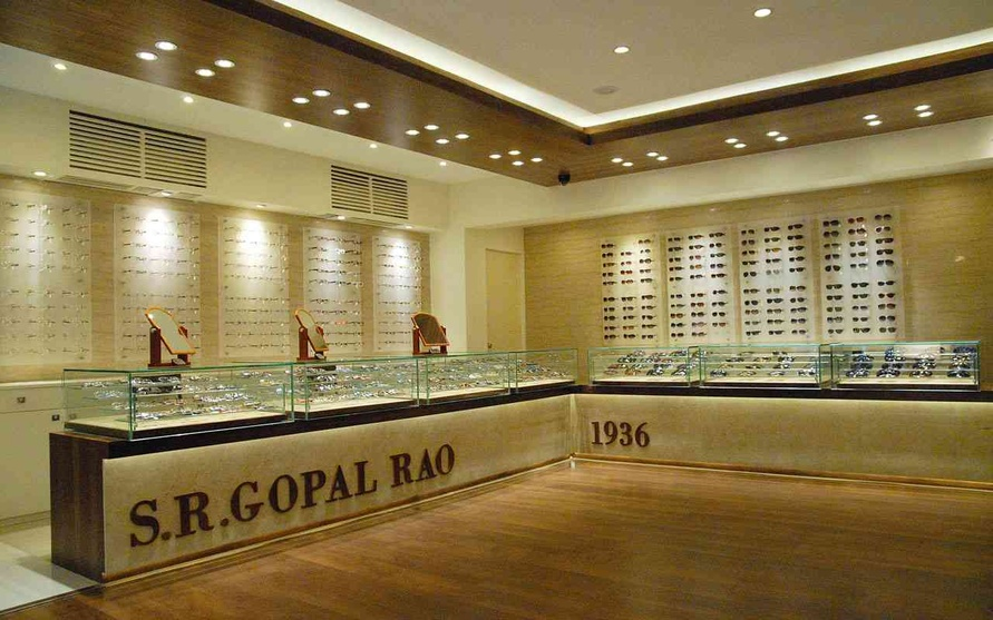 Optical Showroom Interior Design By Bhakti Shetty
