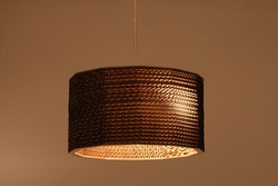 Sustainable Handmade Sylvn Studio Octagon Lamp