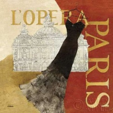 Paris Dress - L Opera Poster