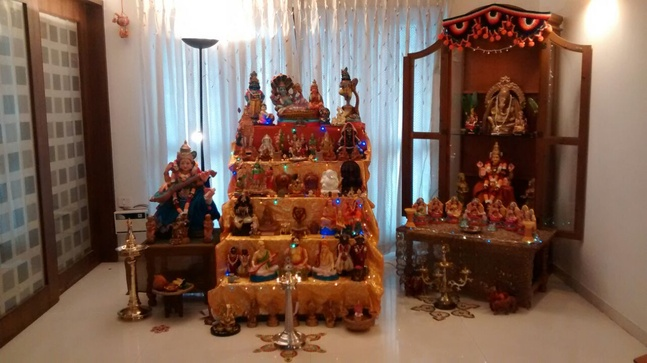 Navratri home decoration ideas themes d cor tips for Navratri decorations at home