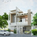 32Ft House Plan in South City, Lucknow
