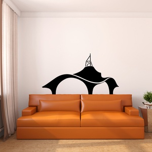 Amazing Architecture Wall Decal ( KC228 )