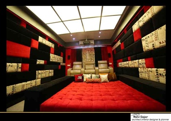 Home Theatre Design Ideas | Home Theatre Designs, India
