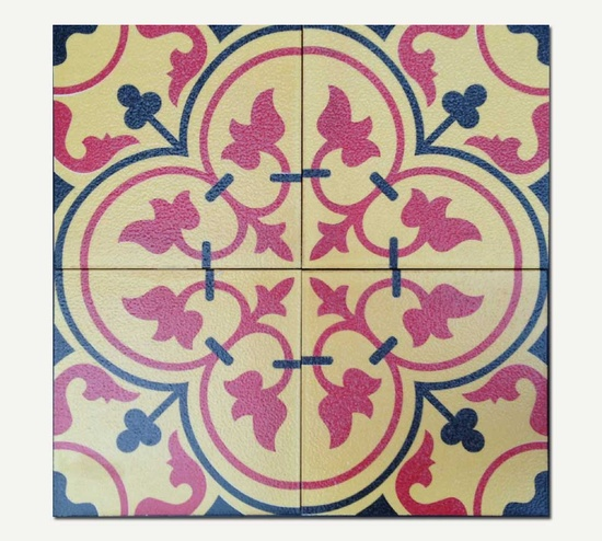 Dublin Antique Matte Artwork Tiles