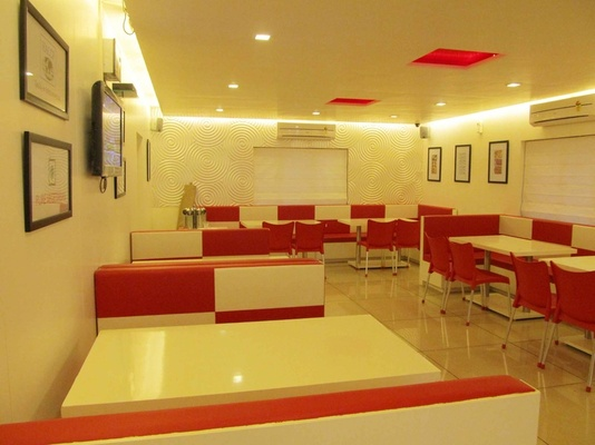 Cafe Shop Interior Design Idea By Interior Designer Pragnesh Parikh
