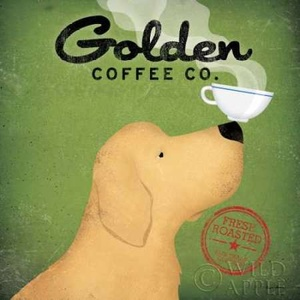Golden Coffee Co Poster