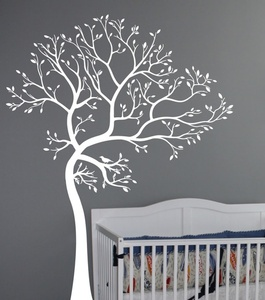 Tree Of Spring Wall Decal
