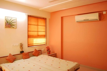 Orange Color Scheme for Bedroom by Ar. Manali Sutaria