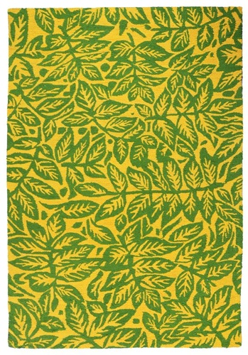 Leafy Hand-tufted, Graphic Pattern Rugs