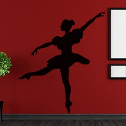Delightful Dancer Wall Decal ( KC100 )