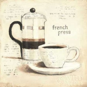 Parisian Coffee III Poster
