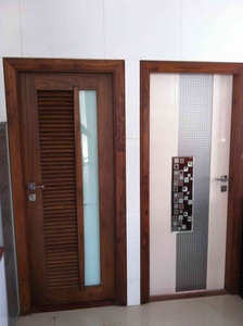 Creative work on entrance doors