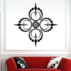 Dotted Circles Wall Decal ( KC184 )