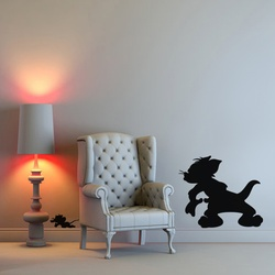 Tom and Jerry Wall Decal ( KC325 )