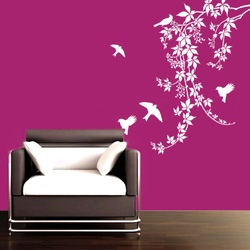 Chirpy Birds Wall Decal ( KC004 )