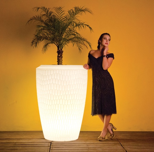 Illuminated Planter Chiara 120