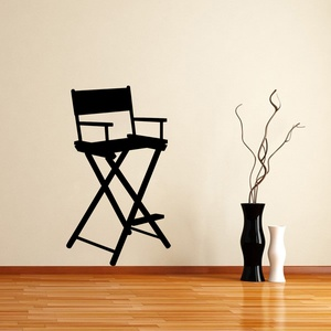 Directors Chair Wall Decal ( KC326 )
