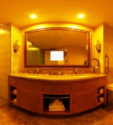 Bathroom Mirror TV