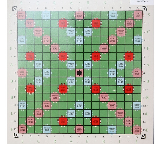 Game Series-scrabble Artwork Tiles